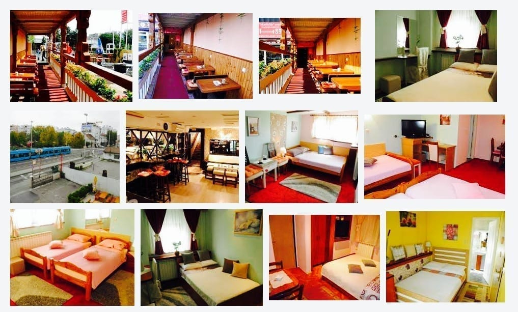 Croatia, Zagreb, Rooms Madison