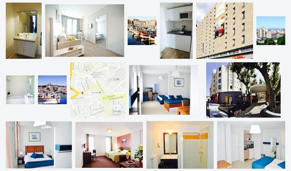 France, Marseille, Apartment, Residhome Appart Hotel Saint-Charles