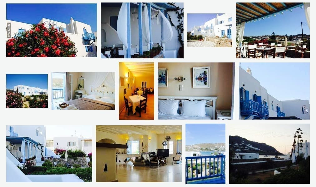 Greece, Mykonos, Hotel , Hotel Erato Ornos Bay