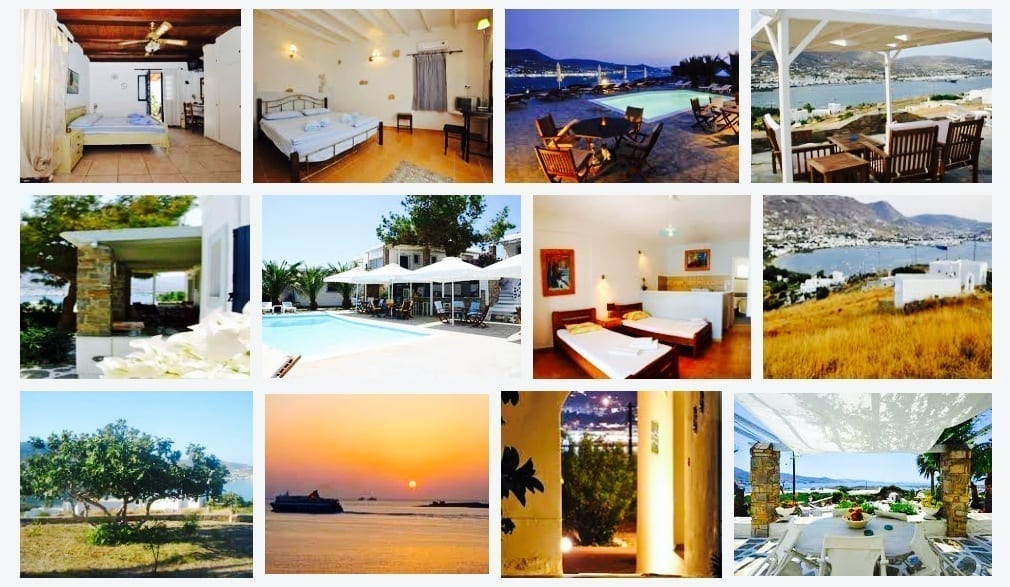 Greece, Paros, Hotel, Krotiri Bay Hotel