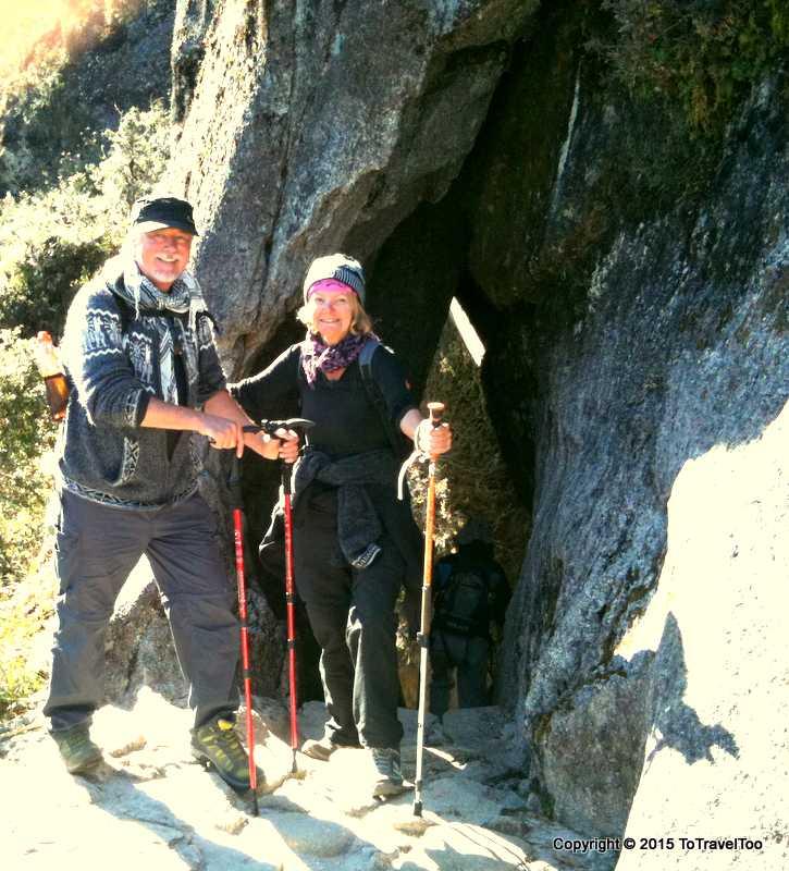 Baby boomers tackling Machu Picchu