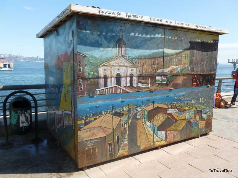 Street Art on Cerro Alegre Valparaiso