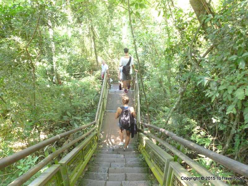 Argentina Puerto Iguazu Falls Park Visit Day 1