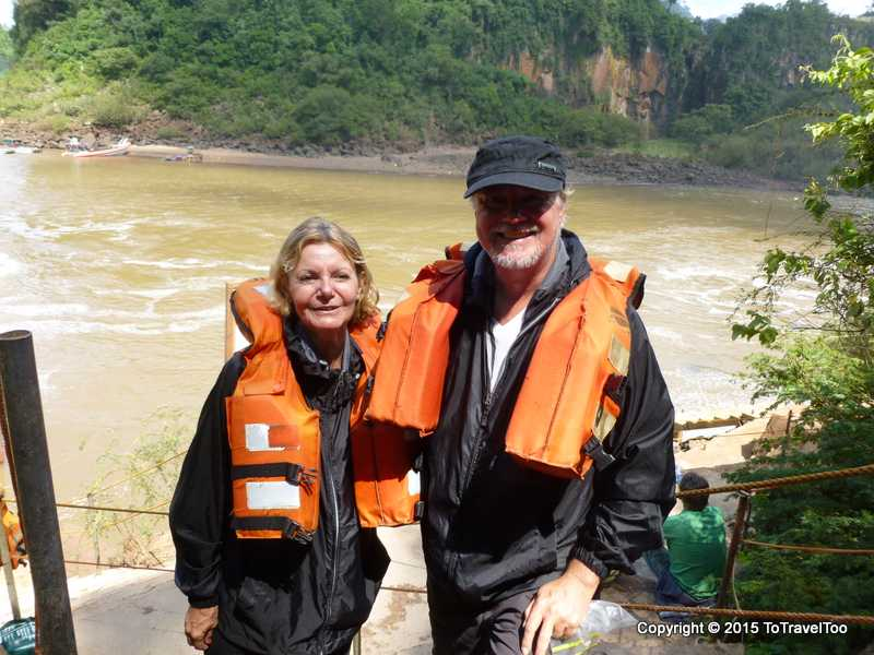 Baby Boomers get a soaking at Puerto Iguassu Falls Devils Throat