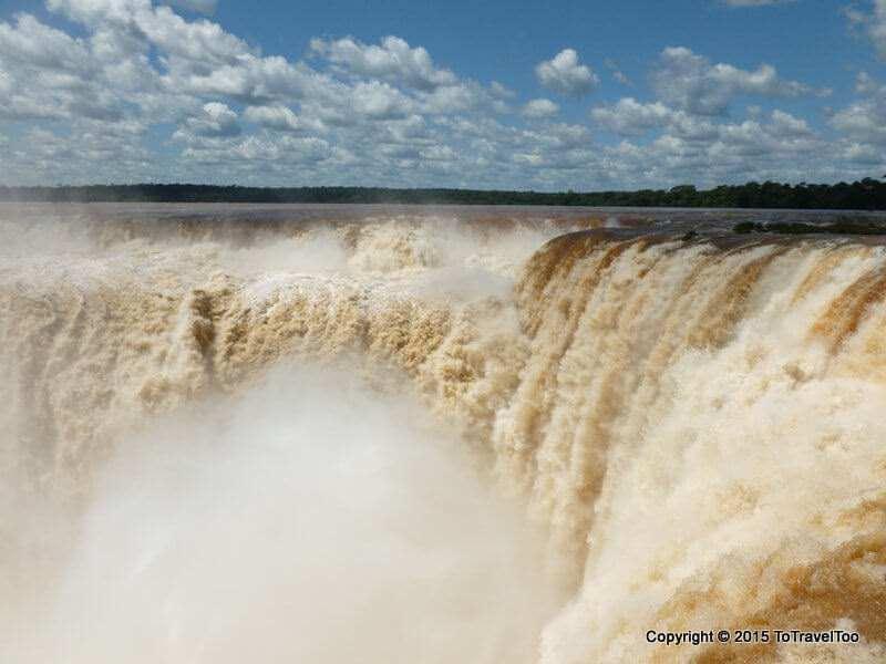 The Power of The Gargantuan del Diablo Iguazu Falls