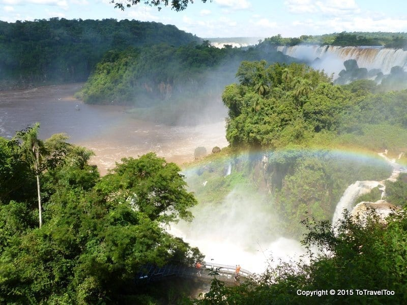 Argentina Puerto Iguazu Falls Park Visit Day 2