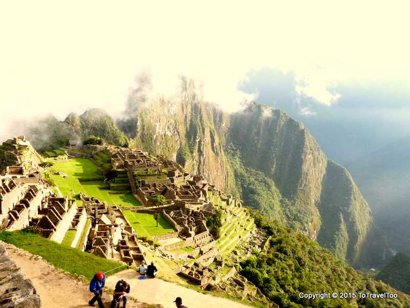 The Lost City of the Incas as we trek the last few moments down the path to Machu Picchu