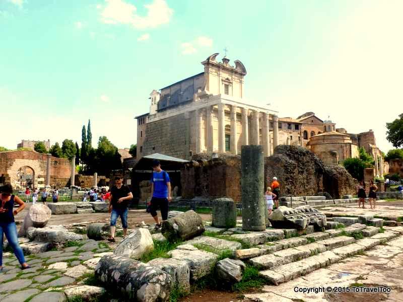 Italy, Rome, Palatino