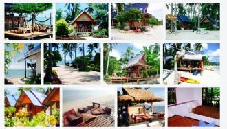 Thailand, Koh Phangan, Hotel, Coco Gardens