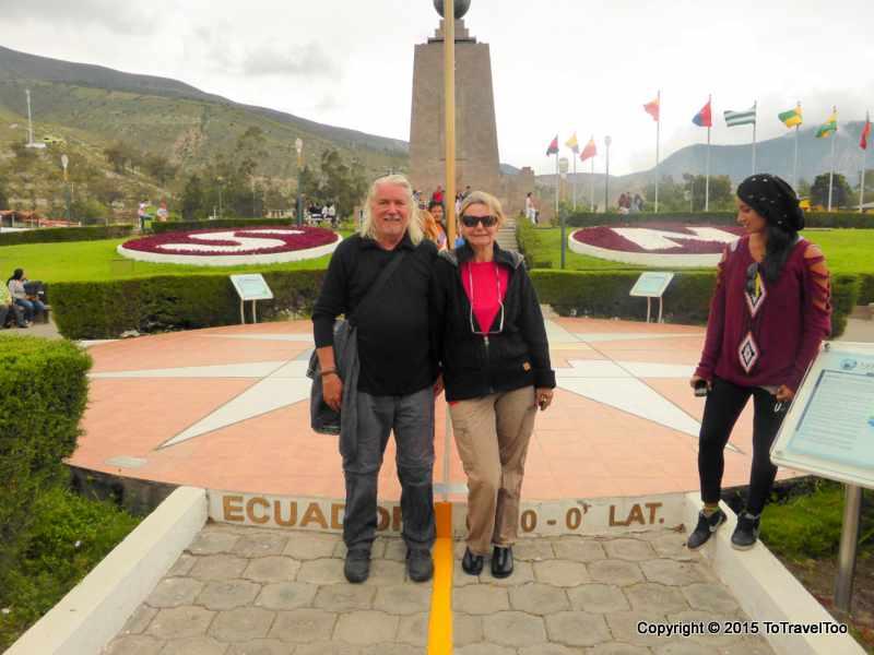 """Quito Ecuador, Mitad del Mundo, """"Center of the Earth"""""""