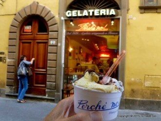 Italy. Florence, Walking Tour Day , Gelato