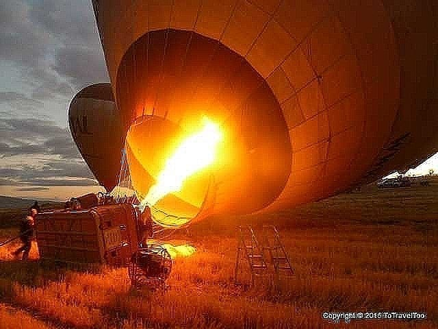 Hot Air Balloon Ride with Royal Balloons