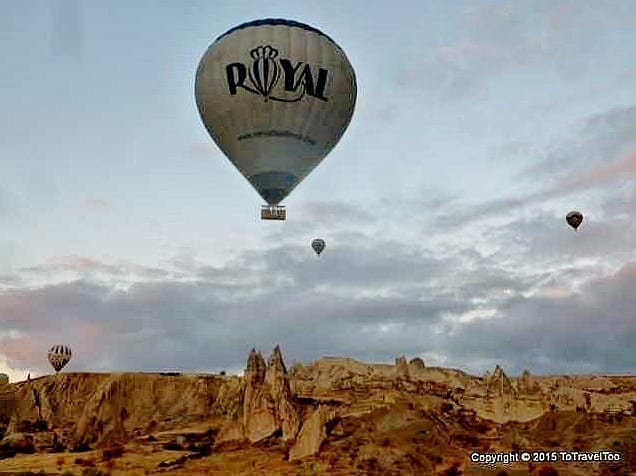 Turkey,Cappadocia,Royal Balloon Ride