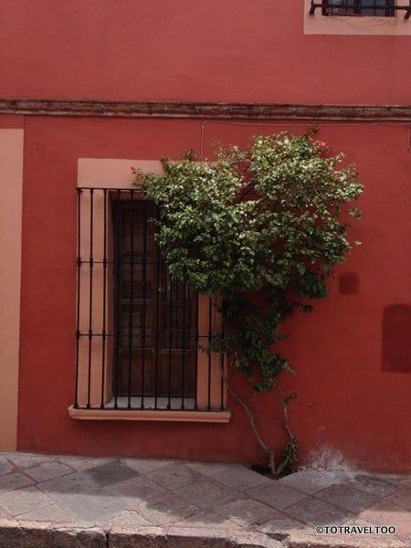 Centro Historico area of Queretaro