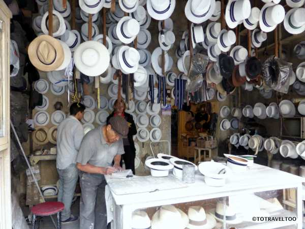 Panama Hat Maker