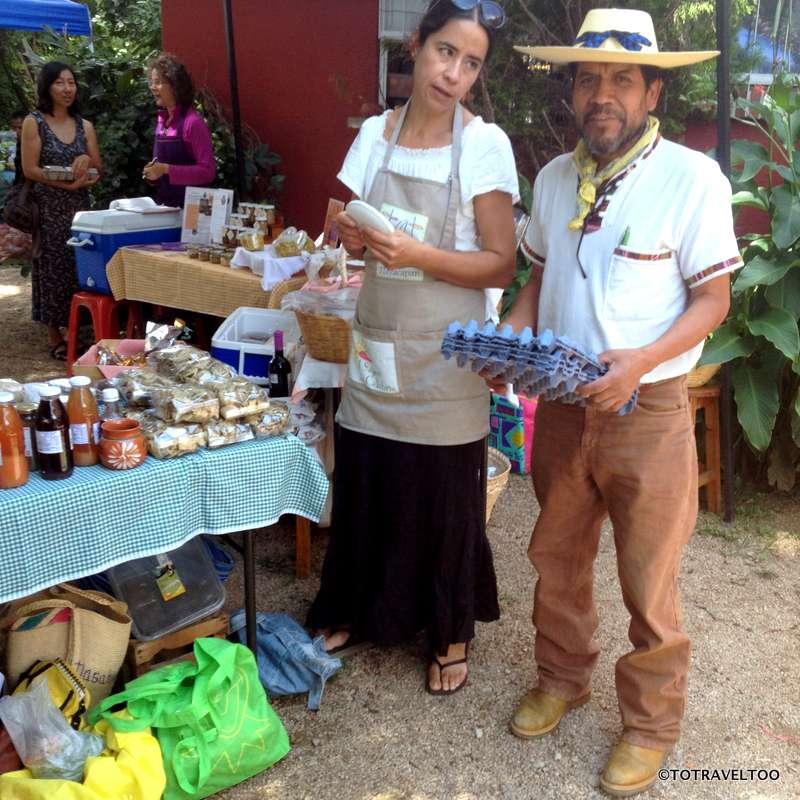 Friday's Organic Market Tepoztland