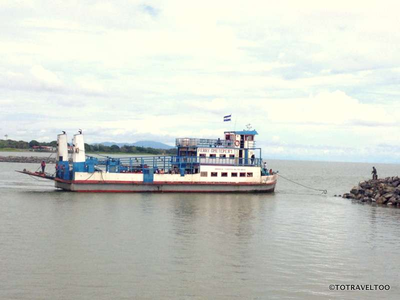 Ferry to Ometepe Island Nicaragua