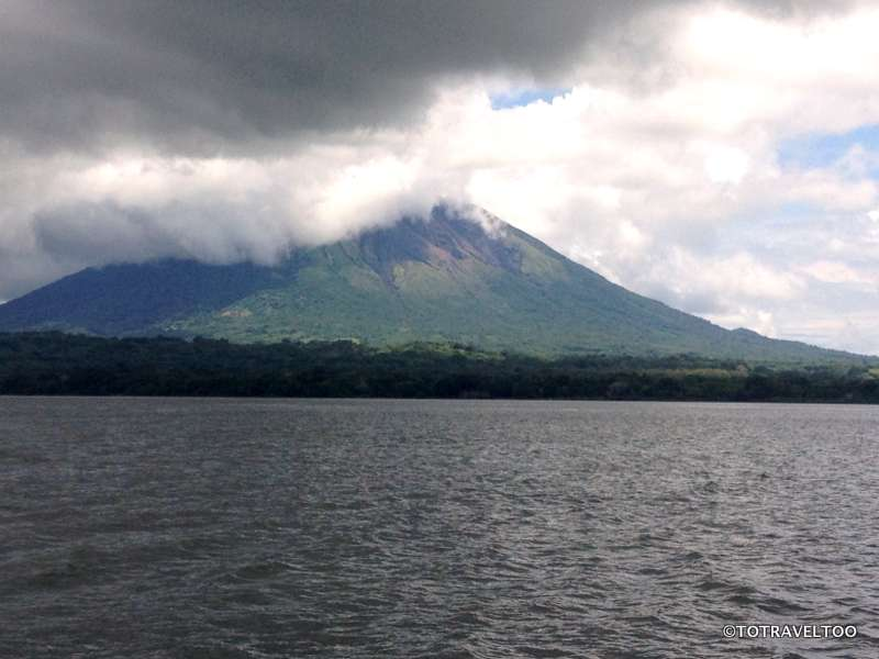 Volcano Concepcion view from the Ferry