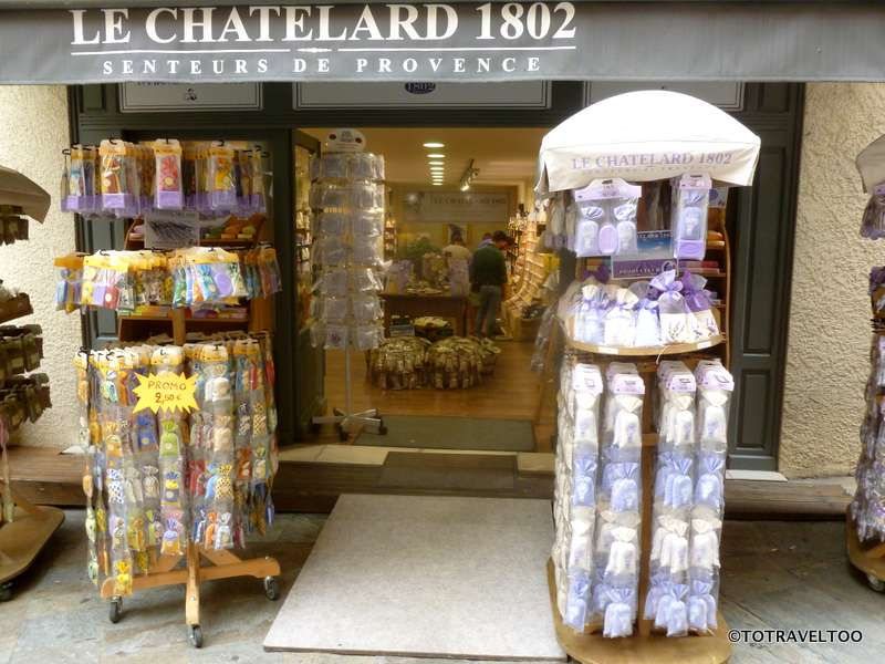 The enticing smell of lavender as you walk past in Grasse