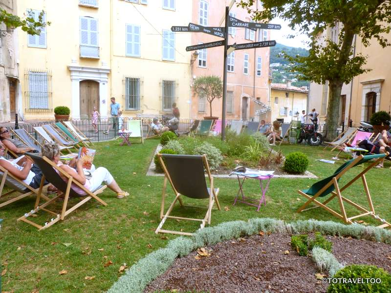 The sensuous aromatic garden in Grasse