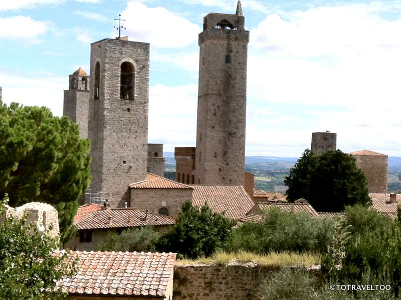 The Famous Towers of San Gimignano