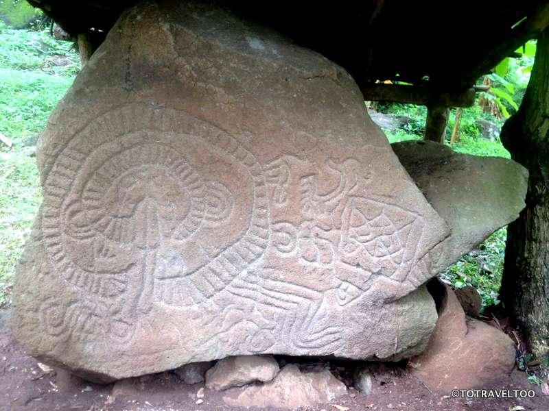 Petroglyphs on Ometepe Island