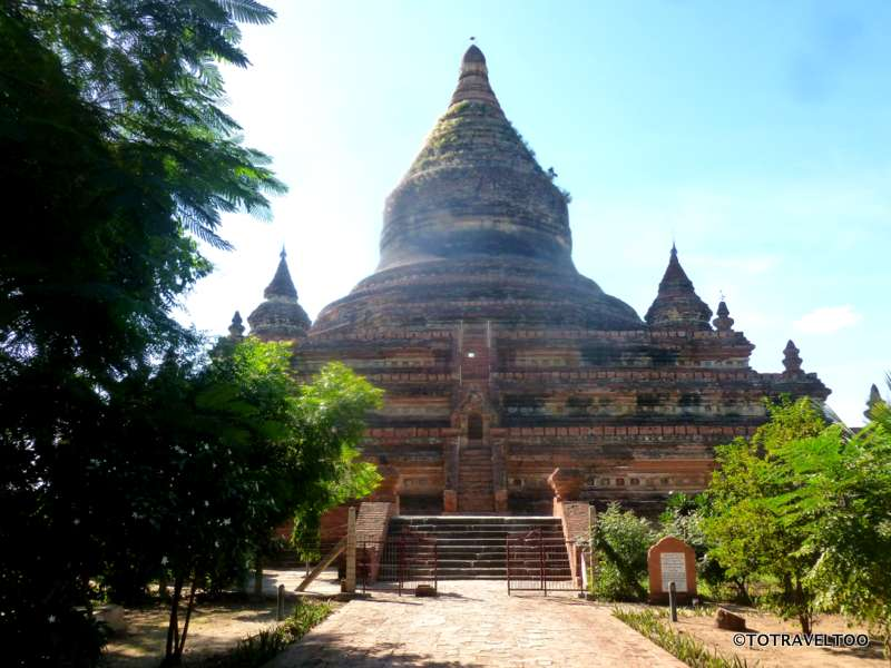 Mingalazedi Temple in Bagan Myanmar