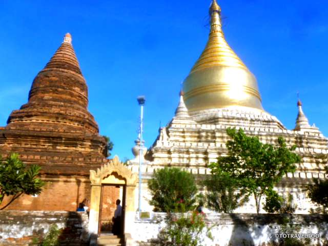 Myazedi Pagoda Bagan Myanmar