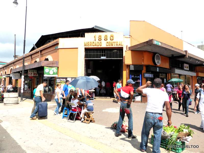 Mercado Central in San Jose Costa Rica