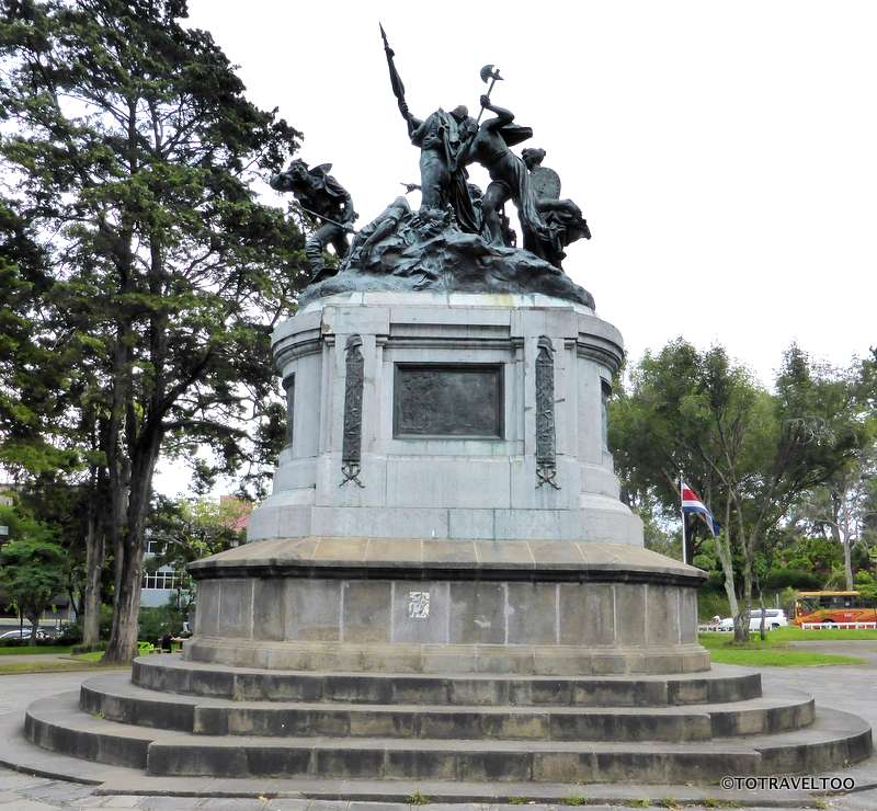 The National Monument San Jose Costa Rica