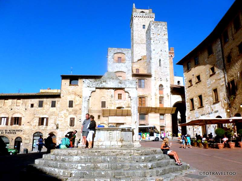The Wishing Well at San Gimignano