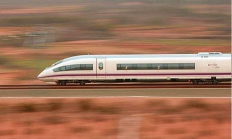 Renfe Ave Train - budget travel exercise