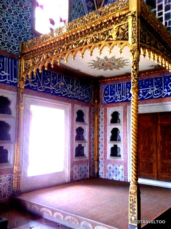 Private Chamber of Sultan Murad III at Topkapi Palace