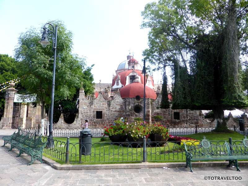 Wander the streets in and around Morelia