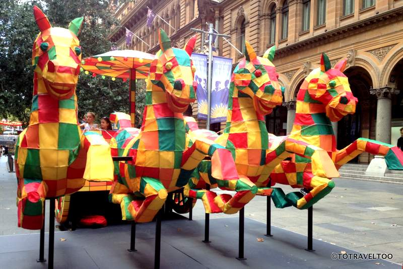 Year of the Monkey at Martin Place Sydney - The Horse