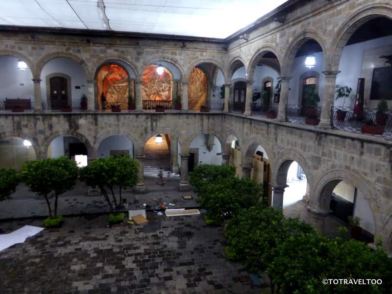 Palacio de Gobierno in Guadalajara