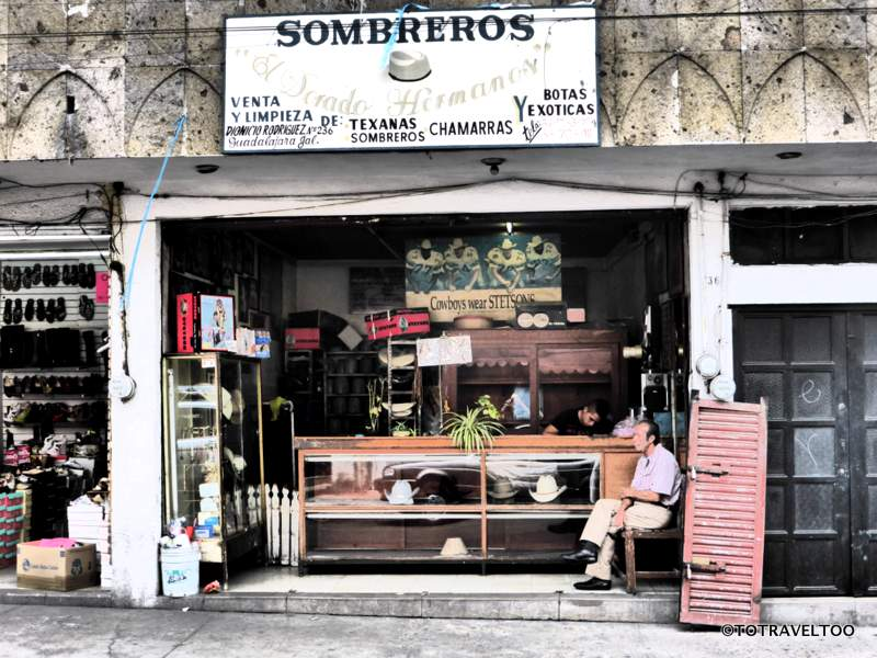 One place to purchase a Sombrero in Guadalajara