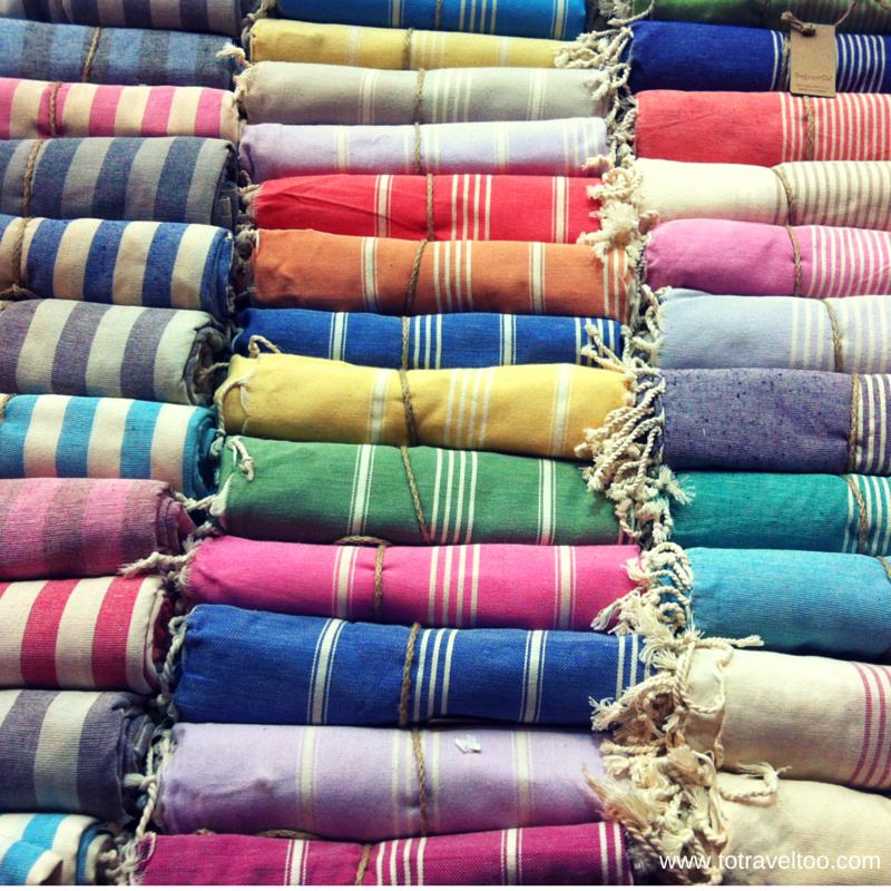 Turkish Towels Istanbul Spice Market