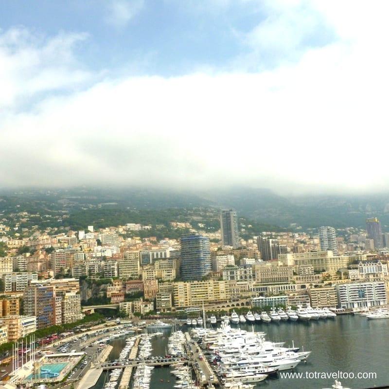 Monaco near Nice