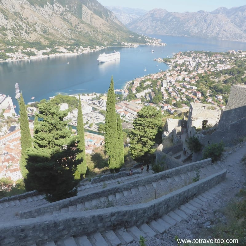 Heading Back Down The Fort of Kotor