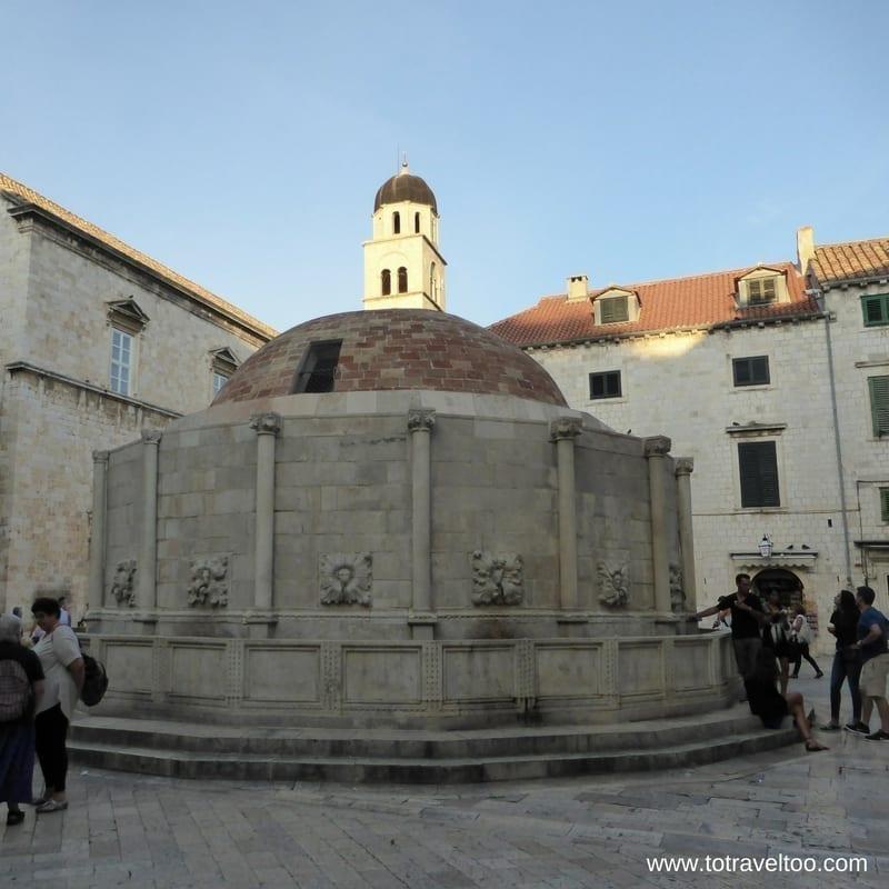 Onofrio's Fountain Dubrovnik