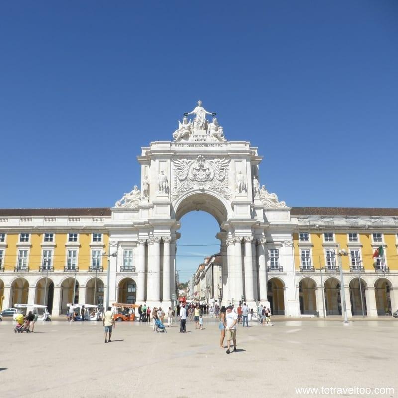 Lisbon Praca de Comercio