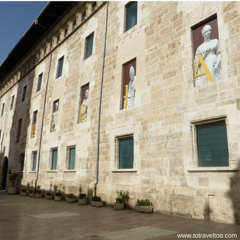 Palace of the Borgia Valencia