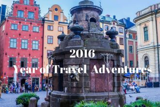 2016 Year of Travel and Adventures