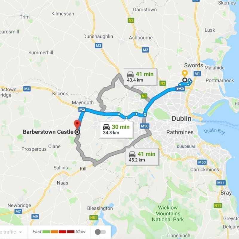 Self Drive Ireland Itinerary